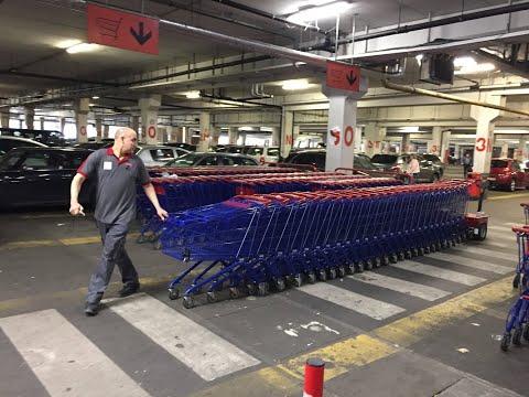 Empujadores de carro de la compra V-Move