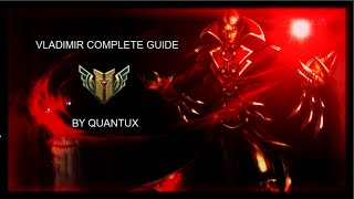 league of legends the complete guide to vladimir super in depth season 6 rework