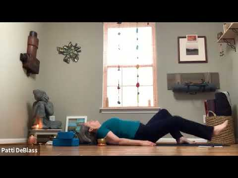 Yoga for Stress Reduction with Patti - 60 Minutes