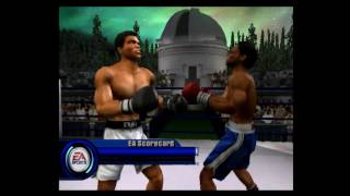 Knockout Kings 2002 Muhammad Ali vs Joe Frazier