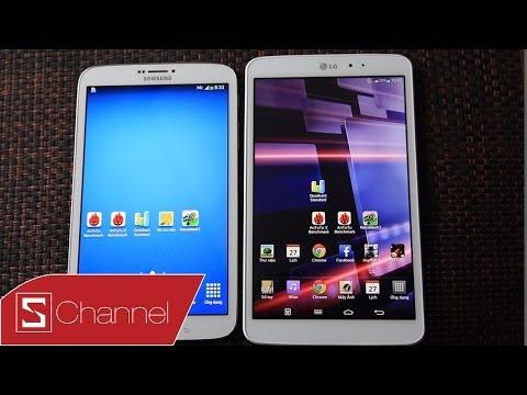 """Schannel - Chọn máy tính bảng Android 8"""" nào: LG G Pad 8.3 hay Galaxy Tab 8.0 - CellphoneS"""