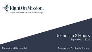 Joshua in 2 Hours