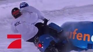Rewinside & Kelly MissesVlog - Unfall im Team-Duell!😱 | ProSieben Wintergames