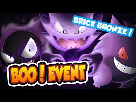 NEW BOO HALLOWEEN EVENT IN POKEMON BRICK BRONZE!! - Pokemon Brick Bronze
