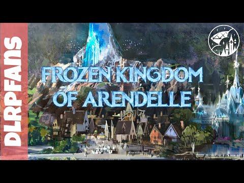 Frozen Kingdom of Arendelle at Disneyland Paris