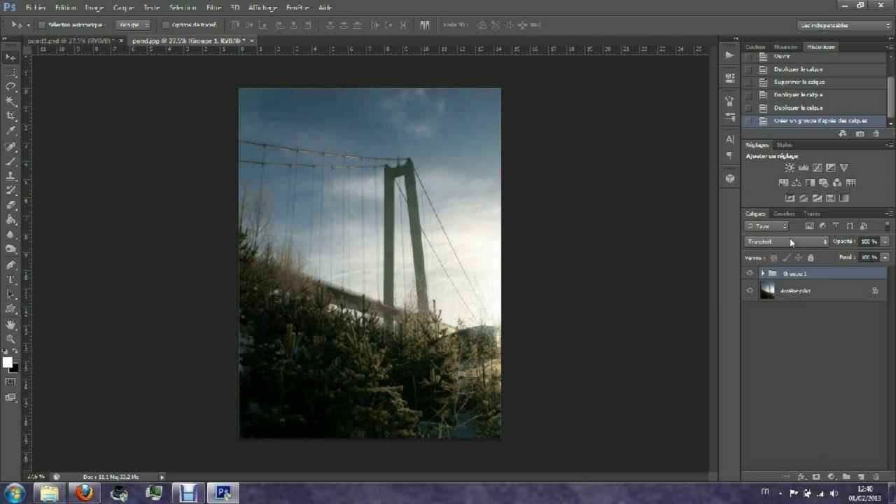 Rendre Une Image Plus Nette Avec Photoshop Hd Youtube