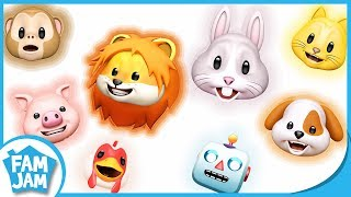 Like Johnny Johnny Yes Papa | Animals Animals Yes Robot Animojis
