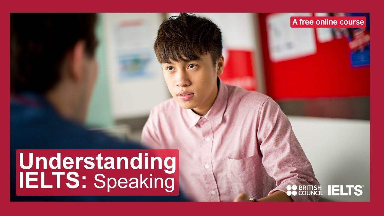Understanding IELTS: Speaking - a free online course.
