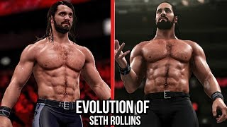 The Comparison Of Seth Rollins In WWE Games! ( WWE 2K14 To WWE 2K17 )