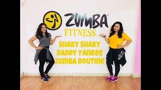 Zumba routine on Shaky Shaky - Daddy Yankee | Preeti Rahalkar Choreography