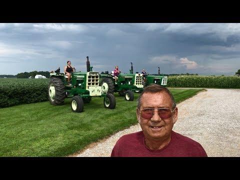 3 Daughters, 3 Oliver Tractors