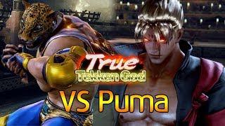 -TRUE TEKKEN GOD MATCH- Puma (킹) vs 체리베리망고 (진) (TEKKEN 7 - 퓨마 vs 체리베리망고)