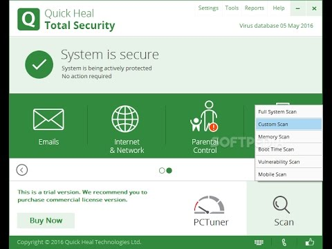 Quick Heal Total Security 2017 - Lifetime Activation