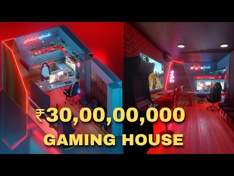 Most Expensive Gaming House in India 🇮🇳 Global Esports