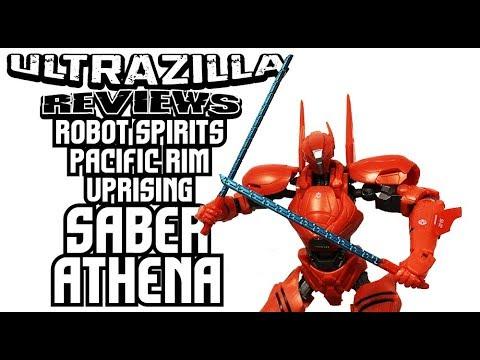 ROBOT SPIRITS PACIFIC RIM UPRISING SABER ATHENA REVIEW!