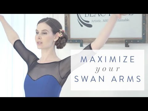 Ballet Beautiful Quick Tip - Maximize Your Swan Arms ... Swan Arms