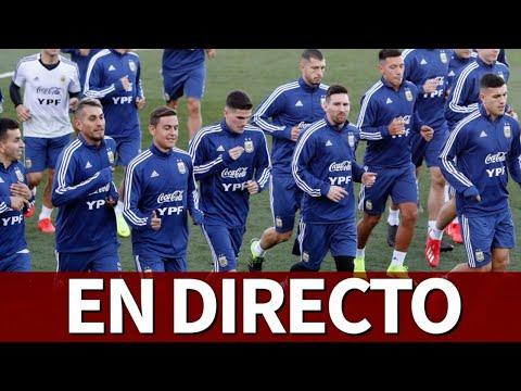 Entrenamiento ARGENTINA en DIRECTO desde Valdebebas | Diario AS