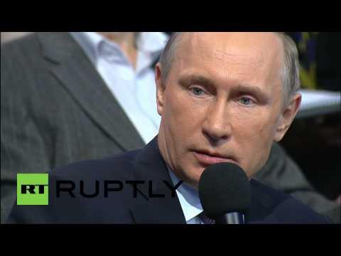 Russia: No collapse of economy, Putin assures