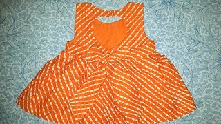 Latest Designer Baby Frock Cutting And Stiching ! DIY !