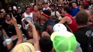 Huntington Beach Main Street Riot Fight 7/28/2013
