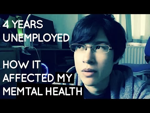 How being unemployed affected my mental health