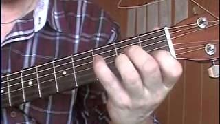 Как играть на гитаре: Красивый перебор из Pink Floyd - Is there anybody out there?