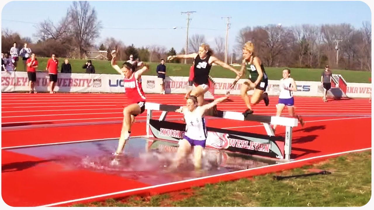 Track And Field Steeplechase Fail High School Memories