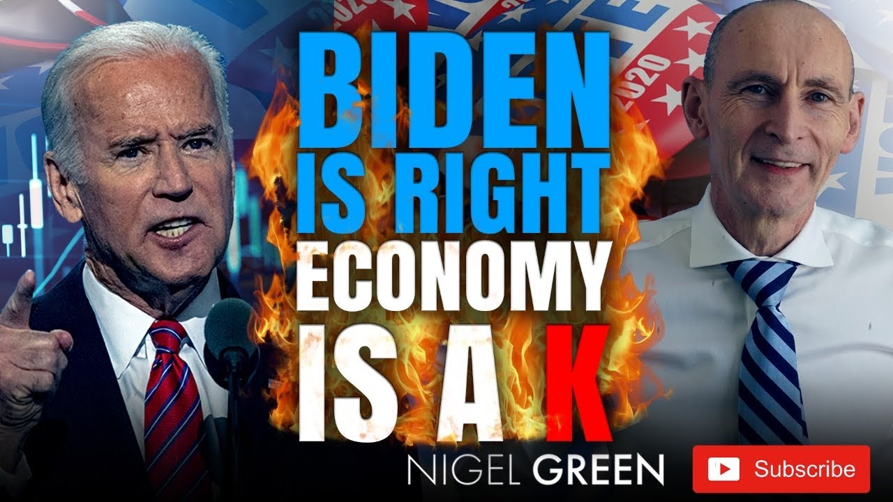 Joe Biden is RIGHT economy is a K! Trump has it WRONG! What does it mean to YOU Nigel Green deVere