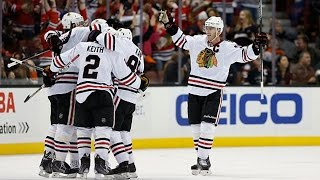 Blackhawks complete late epic comeback against Ducks