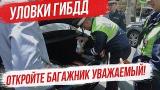 Уловки ГИБДД. Имеет ли право сотрудник ГИБДД потребовать открыть багажник и двери салона авто? ПДД