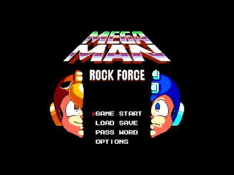 Mega Man Rock Force Music - Credits (Extended)