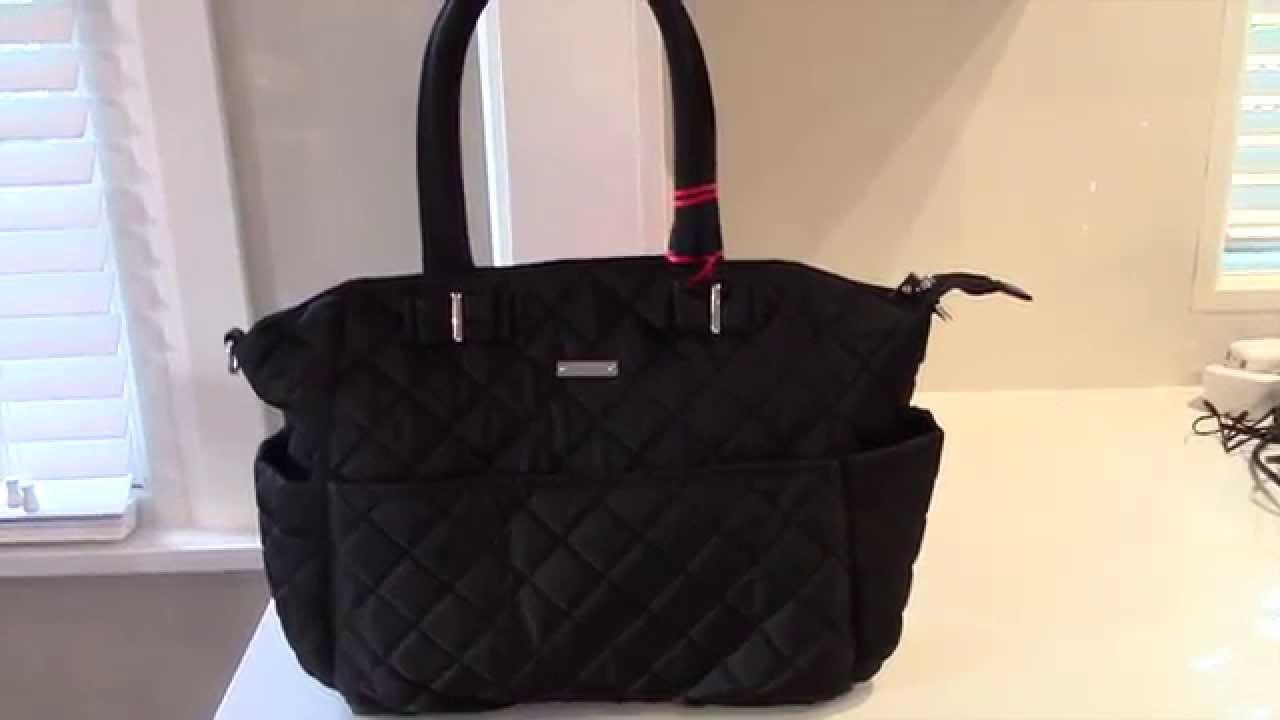 938f241c48eda Storksak Bobby Nappy Bag Review   Baby changing bag - YouTube