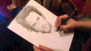 Speed Drawing - Sherlock Holmes/Robert Downey Jr