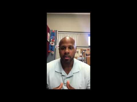 Andre Richburg, Atlantic Cape Community College, Vlog (1 of 3 videos)