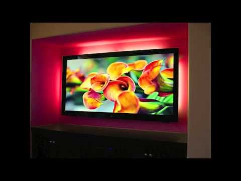Remote Controlled Led Lights For Hdtvs And Entertainment Centers