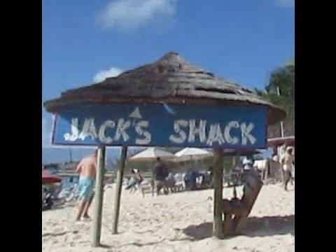 Party At Jack's Shack At Grand Turk Island