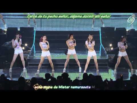 KARA Mister 2nd Karasia Japan Tour 2013 [karaoke+sub Español]