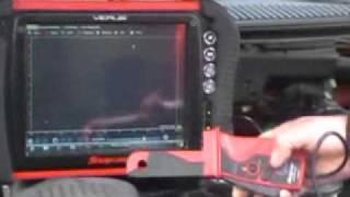 Fuel Pump Waveform using Snap-on Verus
