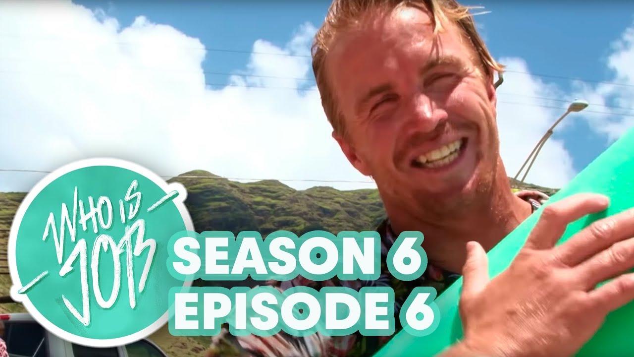 Bikini Bottoms and SUP Surfing Big Waves | Who is JOB 7.0 S6E6