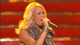 Carrie Underwood / Undo It (Live Performance at American Idol Finale)
