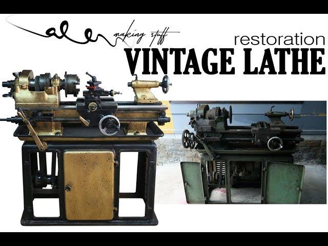Vintage lathe restoration