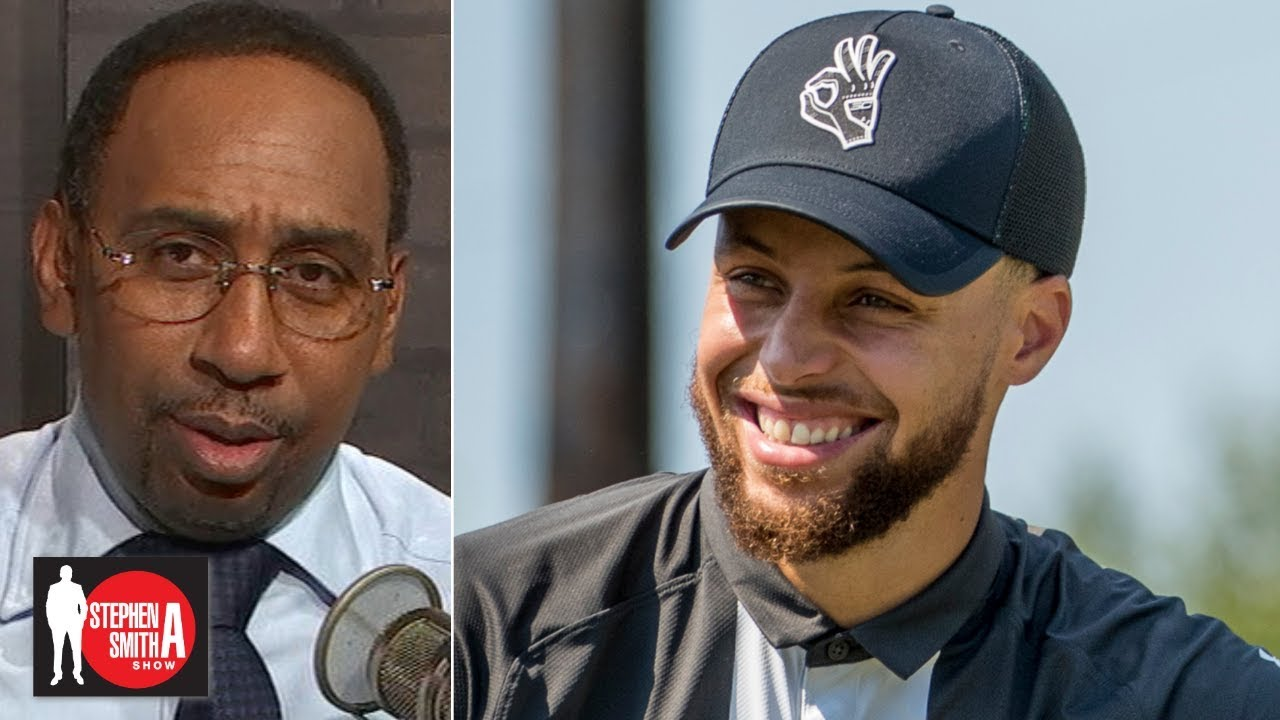Stephen A. commends Steph for financially supporting Howard golf | Stephen A. Smith Show