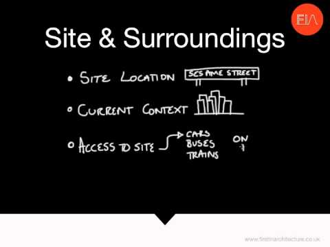 Architectural Site Analysis Part 1  The Checklist Youtube
