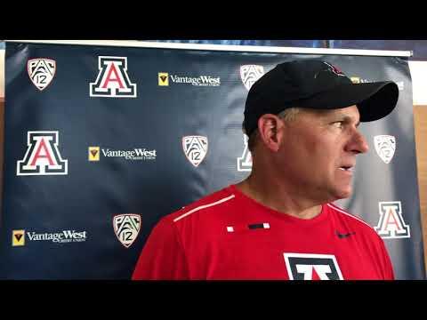 Watch: Arizona coach Rich Rodriguez on Gary Brightwell, Thiyo Lukusa
