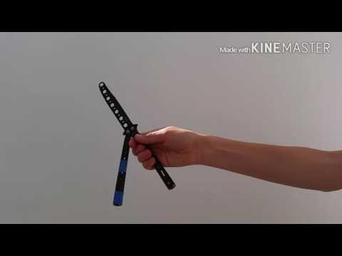 Обучение трюкам с ножом бабочкой для новичков