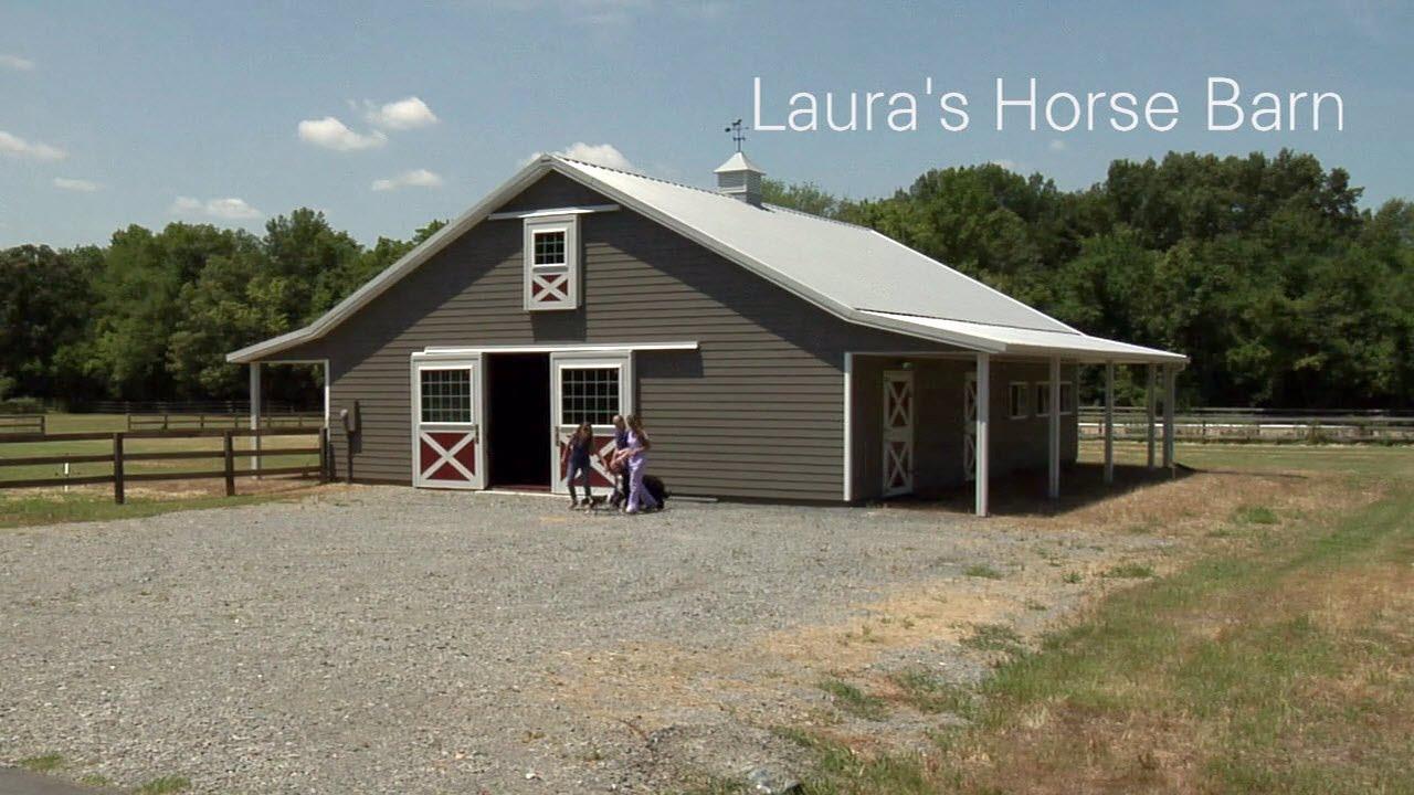 Lauras horse barn morton buildings