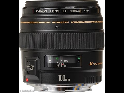 Canon 100mm f/2 Review