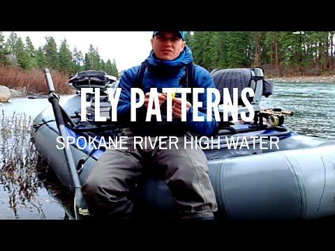 Spokane River Fly Pattern Size for High Water