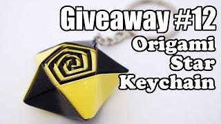 Giveaway #12 - Origami Keychain