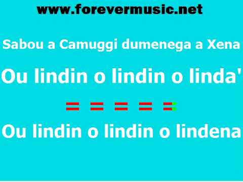 I Trilli - Medley genovese - KARAOKE